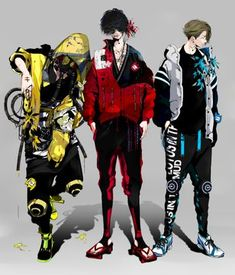 Cyberpunk Anime, Cyberpunk Clothes, Cyberpunk Character, Cyberpunk Fashion, Game Character Design, Character Design Inspiration, Character Concept, Character Art, Cartoon As Anime