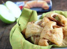 Tarta de manzana en bocados, ¡una merienda fácil!