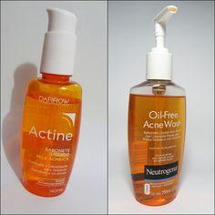 Resenha: sabonete líquido Actine X sabonete líquido Acne Wash Neutrogena - Rabiscando Resenhas