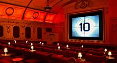 The 12 Coolest Movie Theaters in the World Electric Cinema London, UK Mood lighting, love seats, and leather chairs with footstools, not to mention six double beds with cashmere blankets (huh? Electric Cinema Portobello, Around The World In 80 Days, Around The Worlds, Cinemas In London, London City Guide, Warehouse Project, Beautiful Places To Travel, Movie Theater, Thing 1 Thing 2