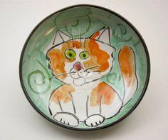 Custom Handmade Pet Feeding Bowls by Clay Lick Creek Pottery | Hatch.co