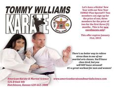 Family plan special for martial arts.
