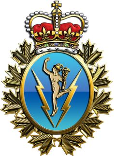 Military Insignia : Canadian Department of National Defence in action: operation POD