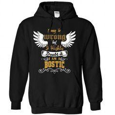 BOSTIC Tee - #money gift #sister gift. WANT  => https://www.sunfrog.com/Names/BOSTIC-Tee-2638-Black-Hoodie.html?id=60505
