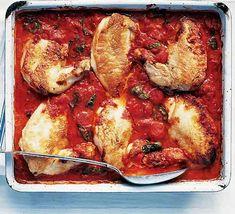 Chicken Cacciatore by Olive Magazine, bbcgoodfood.com #Chicken #Olive_Magazine #bbcgoodfood