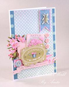 Tilda card - My Tilda´s World Tilda paper design Tilda papercraft cards