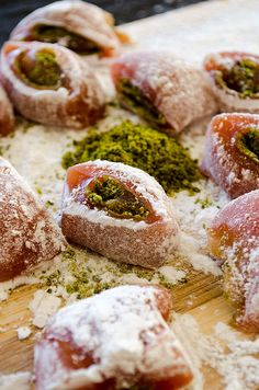 Homemade Turkish Delight | giverecipe.com | #turkish #turkishdelight #lokum #sweet