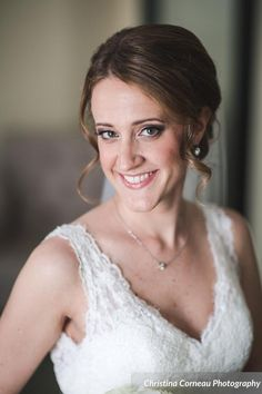 Wedding Hair and Makeup CT by Dana Bartone and Company at the Inn at Longshore captured by Christina Corneau Photography