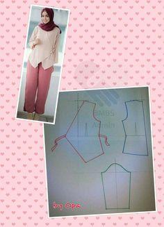 New sewing techniques dress fashion design ideas Designer Blouse Patterns, Blouse Designs, Sewing Patterns Free, Clothing Patterns, Sewing Blouses, Hijab Style, Dress Making Patterns, Fashion Sewing, Dress Fashion