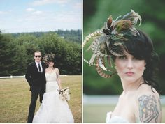 Pheasant Feather Bridal Fascinator! LOVE!