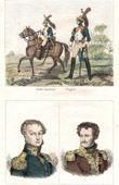 Soldato Napoleonico - Uniforme - Guardia Imperiale - Ritratti - Cambronne (1770-1842) - Daumesnil (1776-1832)