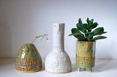 Atelier Stella. Little vases.