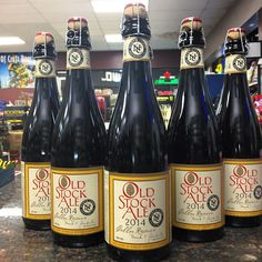 @rocowine: @northcoastbrewingcompany Old Stock Ale Cellar Reserve Wheat!!! . This ale is aged in Wheat Whiskey Barrels. #RoCo #BestBottleShop #BestBeerShopInSac #WestSac #Beer #CraftBeer #BeersInSac #SacramentoNewsAndReview #SacBeerWeek #SBw2016 #Instabeer #BarrelAged #Whiskey