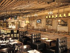 Mija Cantina & Tequila Bar- Boston, MA used Centennial Woods reclaimed wood to create a warm and inviting interior.
