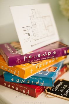 FRIENDS themed bridal shower - a 90's girl dream! Check out the details from themed foods to a trivia game from this Richmond Wedding Collective Shower by Jessica Maida Photography!   See more on richmondweddingcollective.com