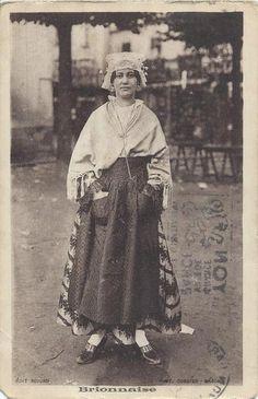costume de brionnaise - bijoux régionaux