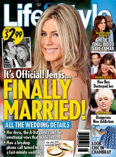 Jennifer Aniston: Is She Finally Married?!? The Latest In Hollywood Gossip!