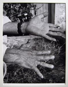 Les Mains (Picasso's hands) by Andre Viller