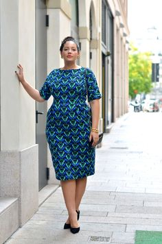 Girl With Curves: Statement Piece