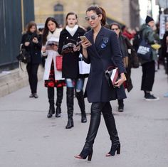 #PFW day 3: looks do dia xadrez e preppy!