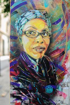 C215 Street Art Barcelona. AidaMpoza   http://www.uninstantedeluz.com/el-arte-de-c215/?utm_source=SM_medium=pinterest_campaign=c215