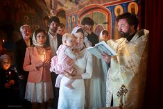 Крещение - Фото крещения.