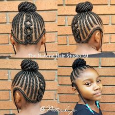 No added hair! Please call to book! Kids Braided Hairstyles, Little Girl Hairstyles, Braid Designs, Braids For Kids, Kid Styles, Cornrows, Natural Hair Styles, Book, Purple