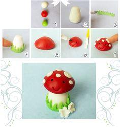 paddenstoel knutselen - knutselen herfst