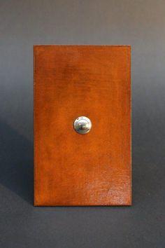 Rostiges Klingelschild mit einer PU Beschichtung