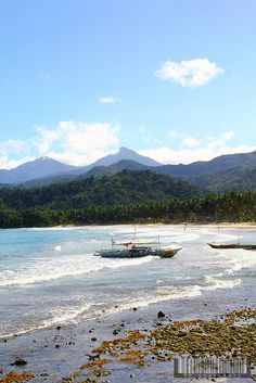 Sabang Beach, Palawan, Philippines by TC Chua, via Flickr