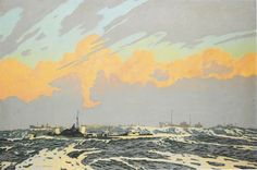Charles Pears, 'A British Naval Convoy'