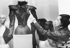 Bodice worn by Empress Elisabeth of Austria when she was assassinated by Italian anarchist Luigi Lucheni on the shores of Lake Geneva, September 10, 1898. Diana Vreeland points to the tear where the sharpened file pierced Elisabeth's heart.