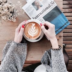 Fun Instagram Account Features Coffee Effortlessly Paired With Stylish Outfits - DesignTAXI.com