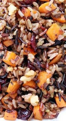 Couscous, Vegetarian Recipes, Cooking Recipes, Healthy Recipes, Thanksgiving Recipes, Fall Recipes, Quinoa, Wild Rice Pilaf, Wild Rice Recipes