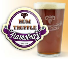 Ramsbury Brewery - Rum Truffle - Laced with rum and spices