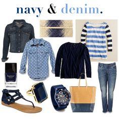 Love denim. Jeans are my staple items.