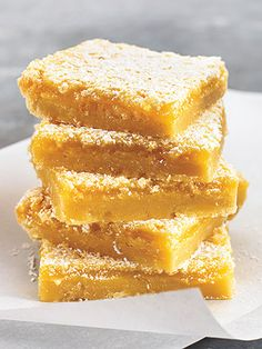 Katie Couric's Recipe for Lemon Bars from People magazine