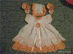 Crochet Designs Free: PRETTY. DRESS FOR CHILDREN WITH GRAPHIC CROCHE.I LOVED. SHARE