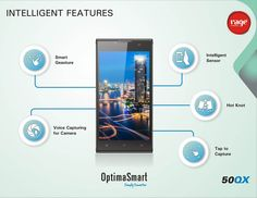 Intelligent features of OPS 50QX will surprise you completely!  #OptimaSmart #SmartPhone #RageMobiles   Know more: http://goo.gl/usOALk