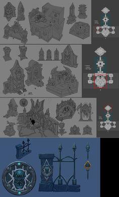 ArtStation - Dungeon 2, Brian Youn