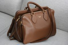 perfect brown leather bag