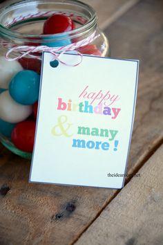 Happy Birthday free printable