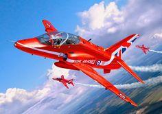 BAe Hawk T.1 'Red Arrows' (Egbert Friedl)