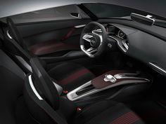 Audi e-Tron Spyder Concept Interior