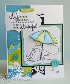 Life's a Beach {The Cat's Pajamas Sneak Peek} by nancyt - Cards and Paper Crafts at Splitcoaststampers