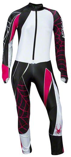 Spyder Womens Performance GS Race Suit: Black: Item 2213 @ ARTECHSKI.com:
