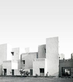 Raj Rewal, Sheikh Sarai Housing Complex, 1970 New Delhi