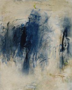 Anne Raymond - February Blue II   2014