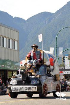 Hope Brigade Days parade. www.HopeBC.ca