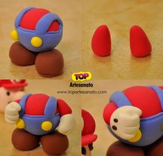 Super Mario de Biscuit - Passo a Passo 5